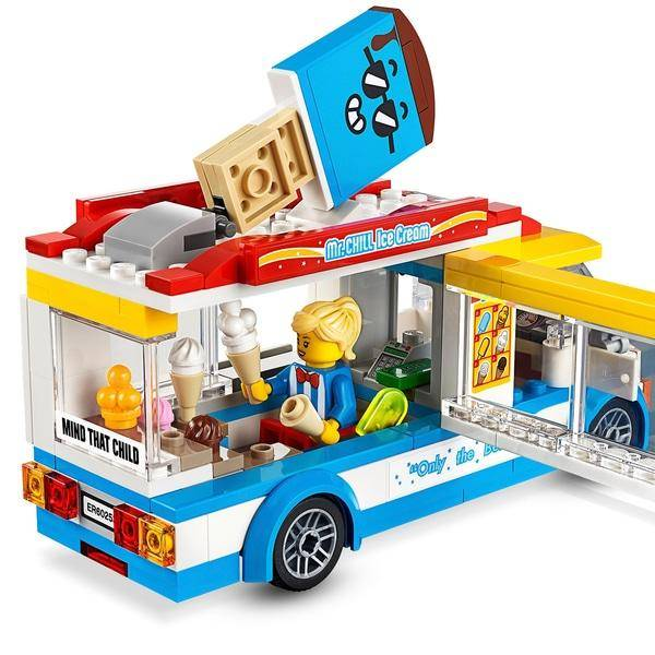 LEGO City - Van de Sorvetes