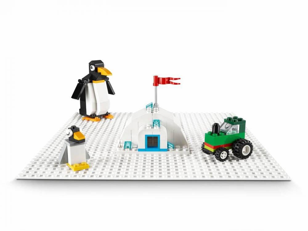 LEGO Classic - Base de Construção Branca 11010
