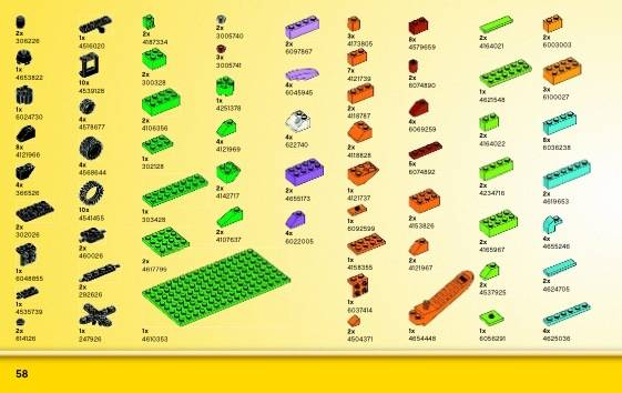 LEGO Classic - Caixa Média de Peças Criativas 10696