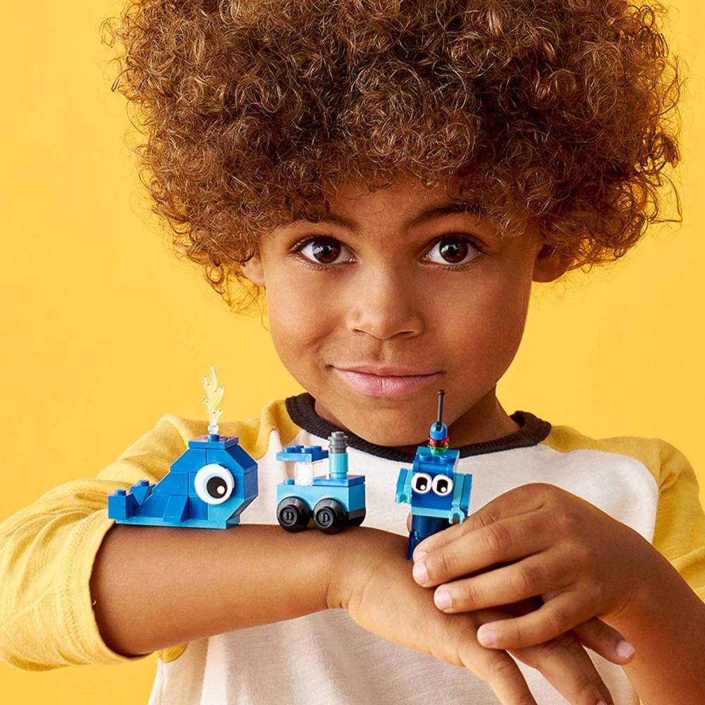 LEGO Classic - Pecas Azuis Criativas 11006