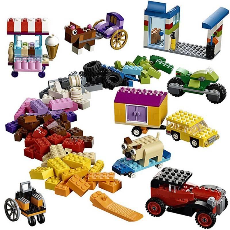 LEGO Classic - Peças Sobre Rodas 10715