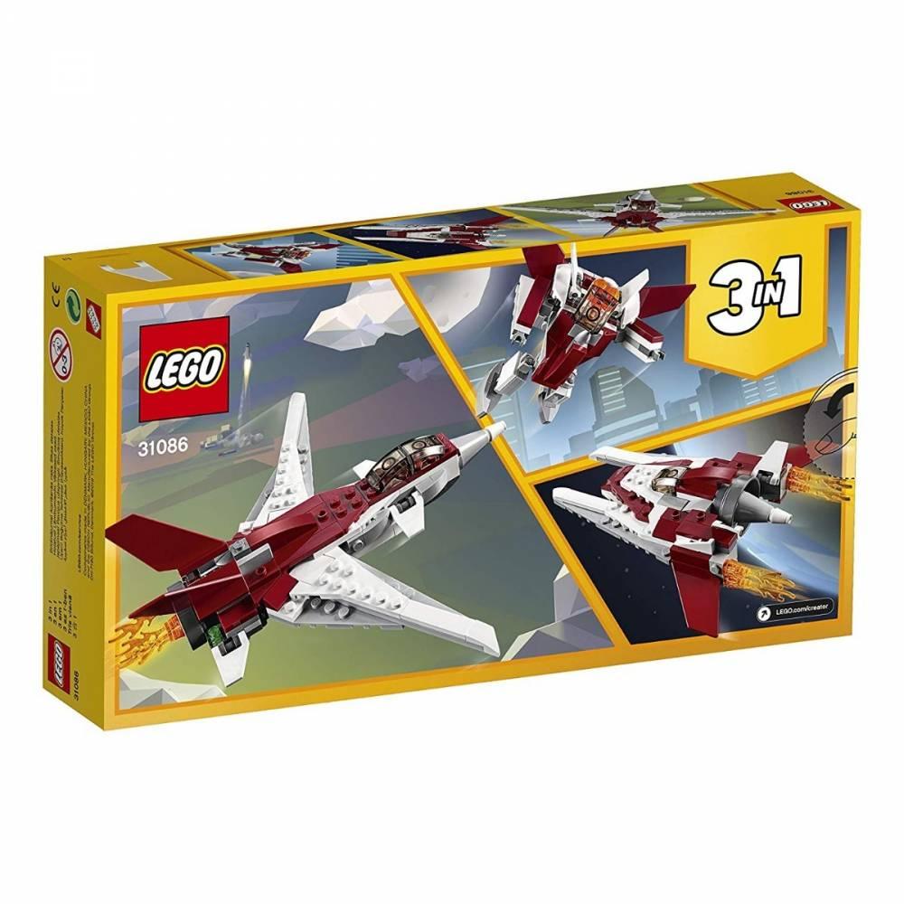 LEGO Creator 3 em 1 - Avião Futurista 31086