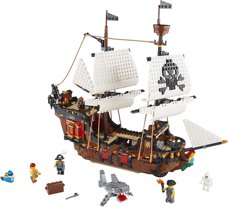 LEGO Creator 3 em 1 - Barco  Pirata V39 31109