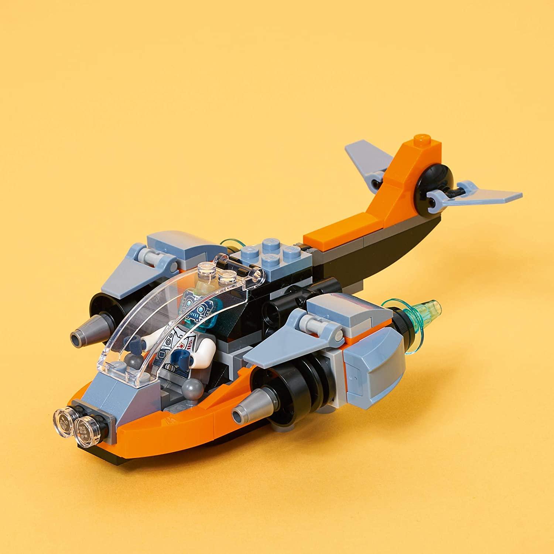 LEGO Creator 3 em 1 - Ciberdrone 31111