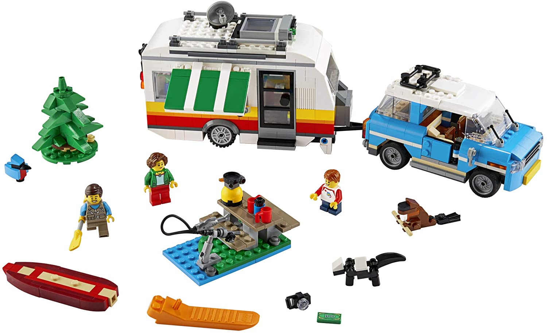 LEGO Creator 3 em 1- Férias de família numa Caravana 31108
