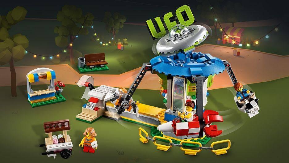 LEGO Creator - Modelo 3 Em 1: Parque de Diversões 31095