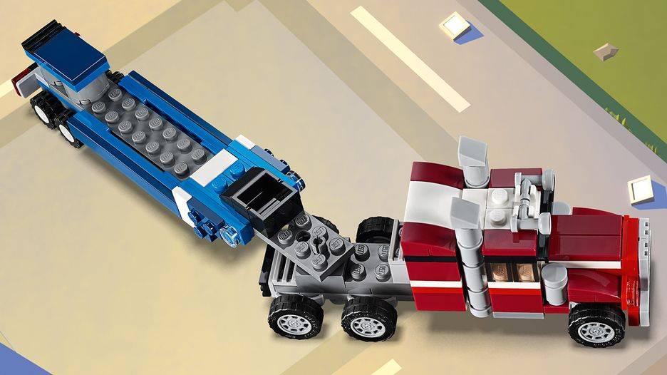 LEGO Creator - Modelo 3 Em 1: Veículo Transportador 31091