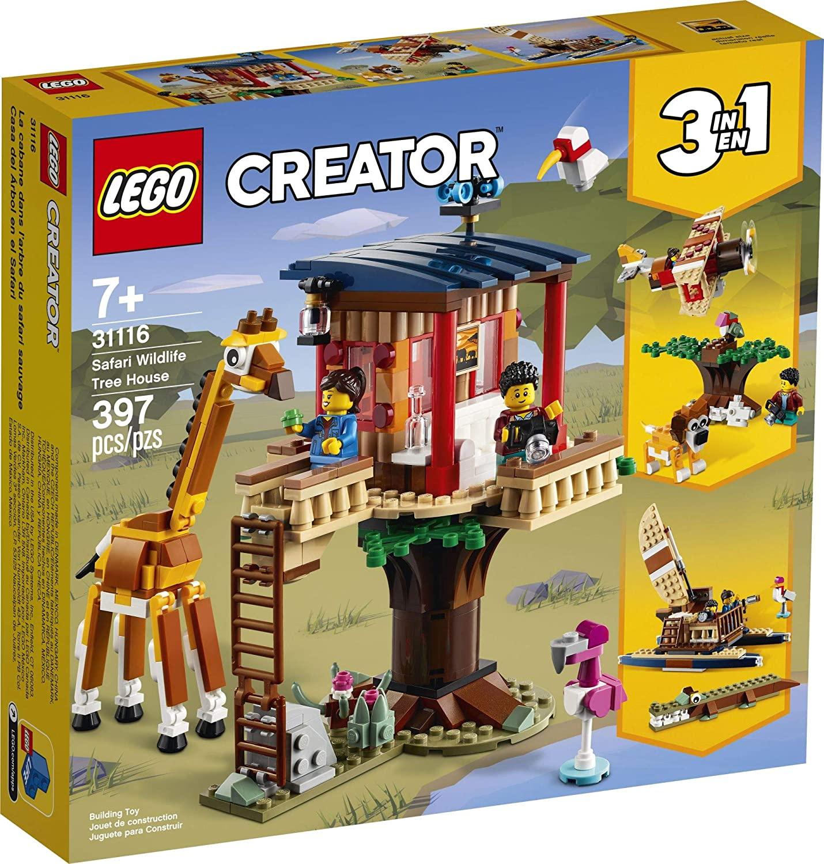 LEGO Creator - Safari na Casa da Árvore 31116