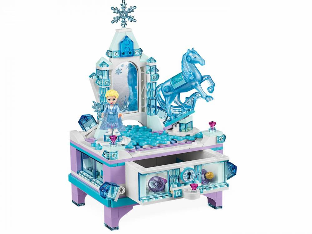 LEGO Disney - A Criação do Porta-Joias da Elsa 41168
