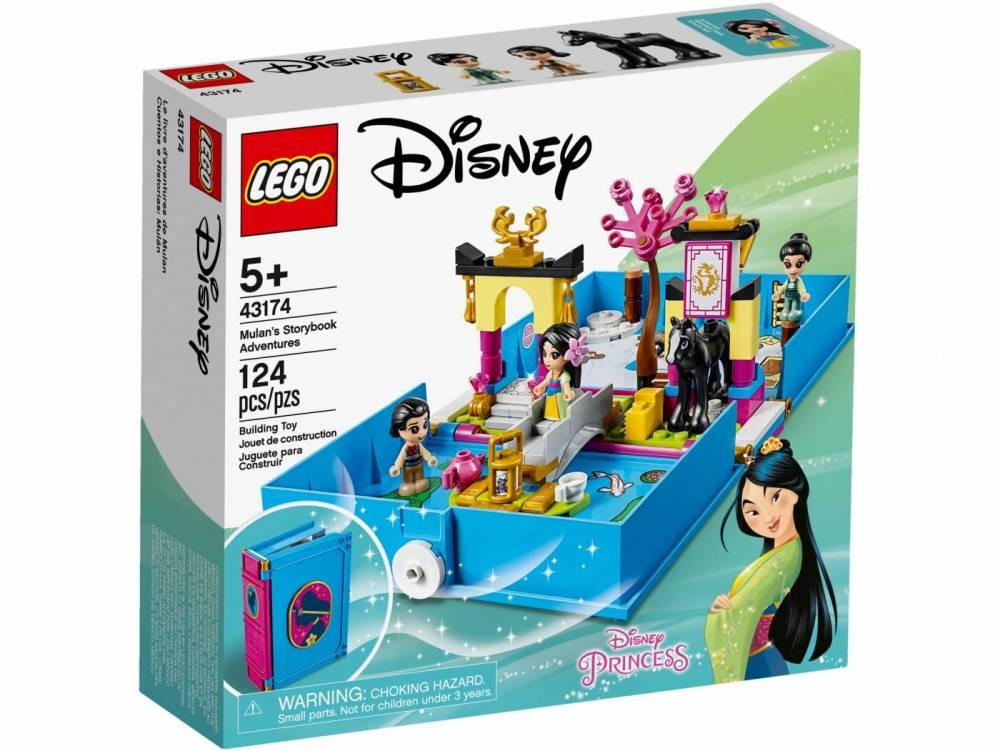 Lego Disney - Aventuras do Livro de Contos da Mulan 43174