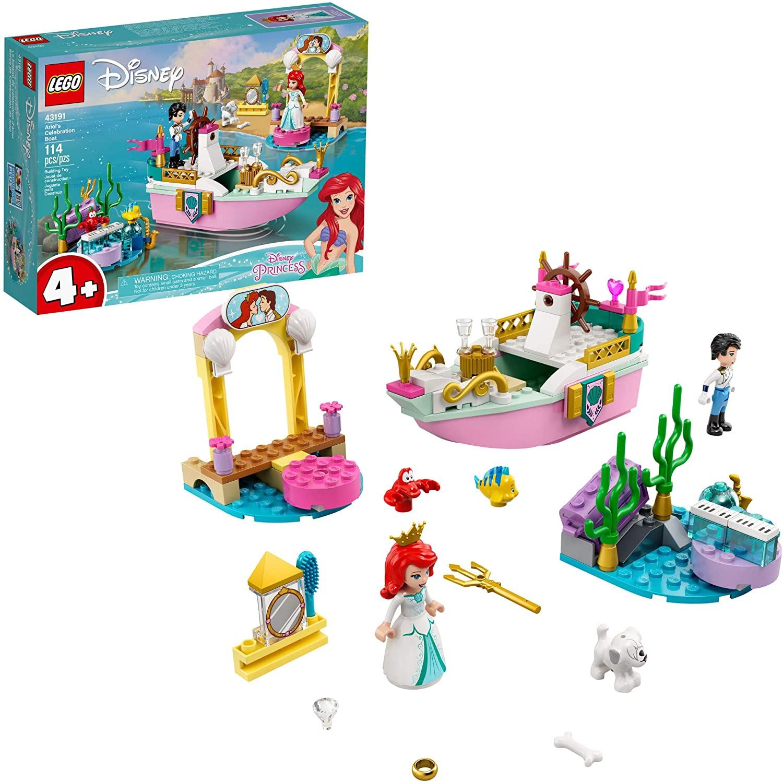 LEGO Disney - O Barco de Cerimônia de Ariel 43191