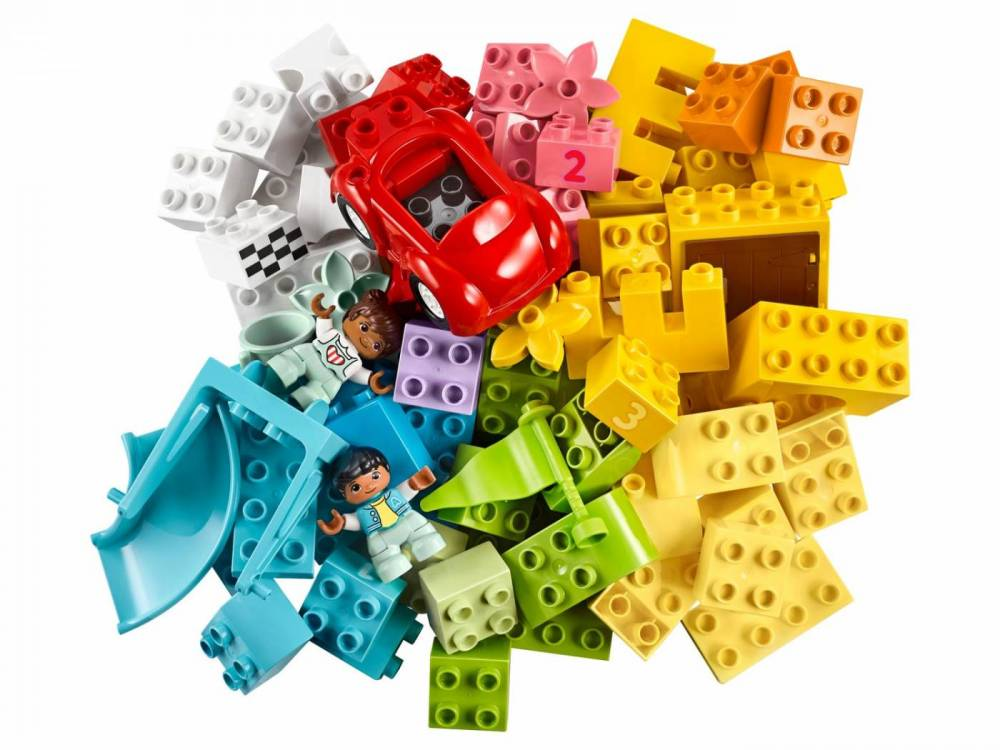LEGO DUPLO - Caixa de Pecas Deluxe 10914
