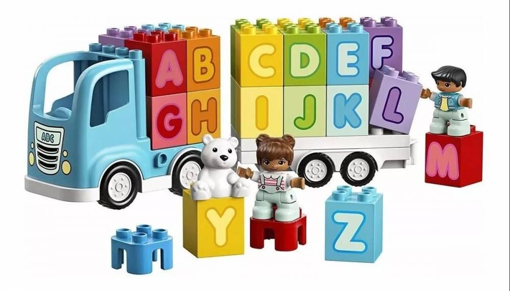 LEGO 10915 DUPLO - Caminhão do Alfabeto