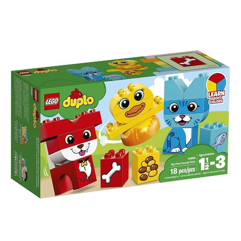 LEGO Duplo - O Meu Primeiro Quebra-Cabeças com Animais 10858
