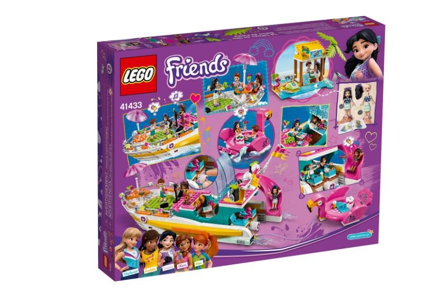 LEGO Friends - Barco de Festa 41433