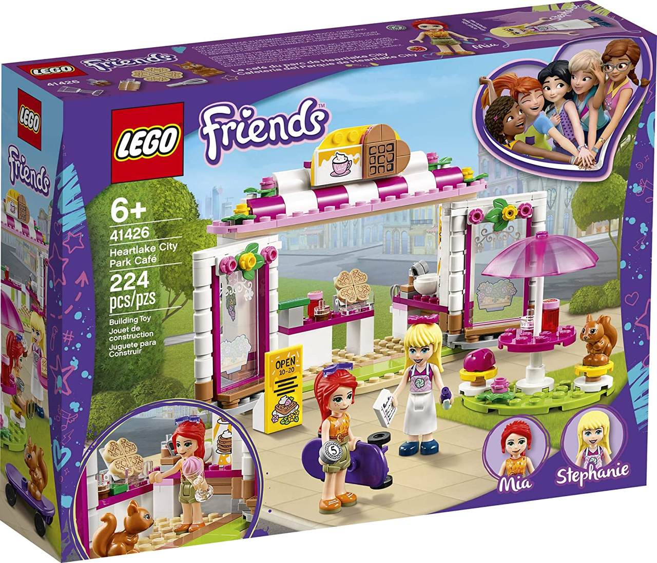 LEGO Friends - Café do Parque de Heartlake City 41426