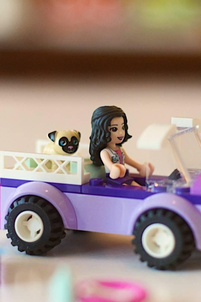 LEGO Friends - Clínica Veterinária Móvel de Emma 41360