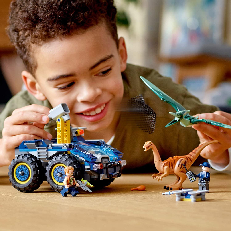 LEGO JURASSIC WORLD - Fuga de Gallimimus e Pteranodonte 75940