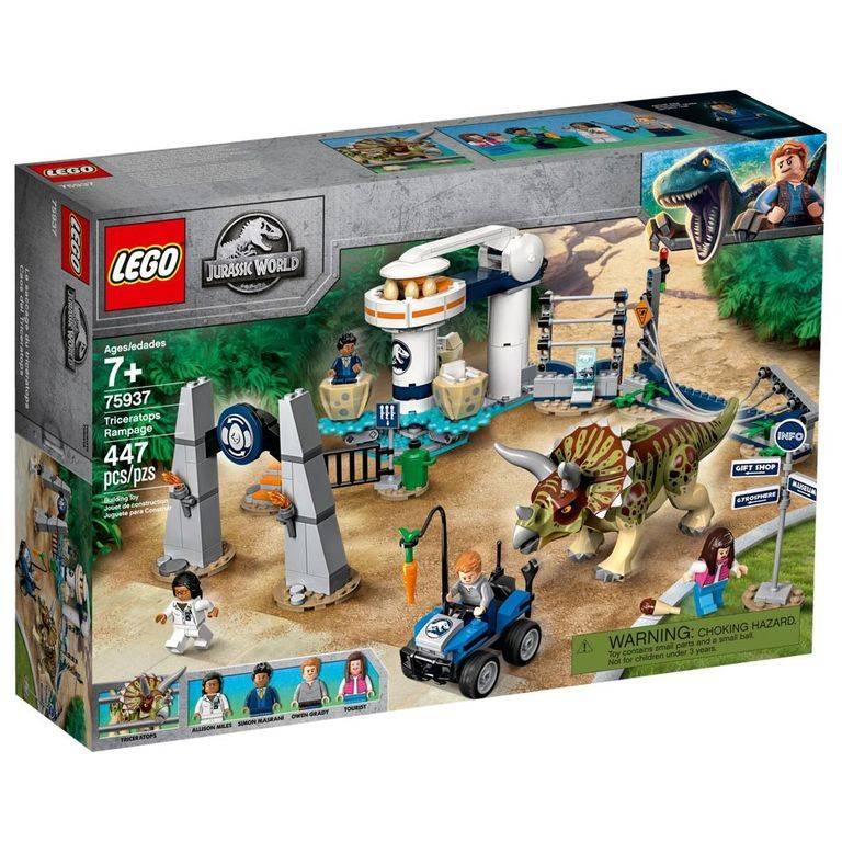 LEGO Jurassic World - Fúria do Triceratops 75937