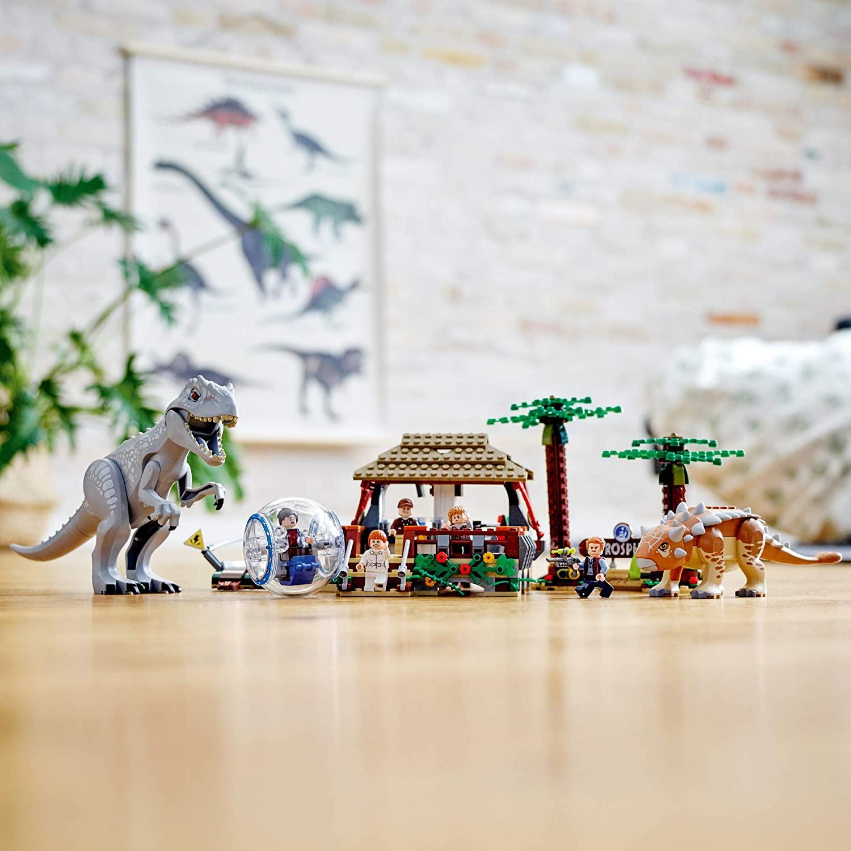 LEGO Jurassic World -  Indominus Rex vs. Anquilossauro 75941