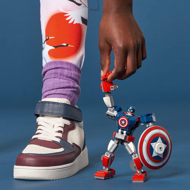 LEGO Marvel - Armadura Robô do Capitão América 76168