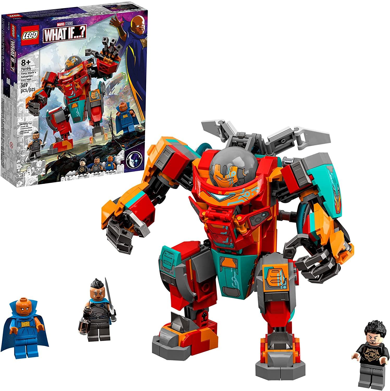 LEGO Marvel - Homem de Ferro Sakaariano de Tony Stark 76194