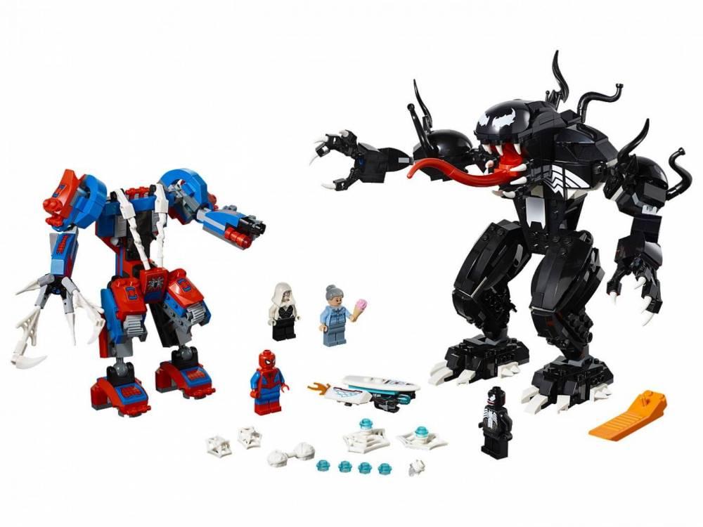 LEGO Marvel - Robô-Aranha vs Venom 76115