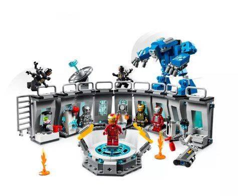 LEGO Marvel - Salão das armaduras do Homem de Ferro 76125