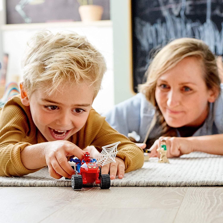 LEGO Marvel Spiderman - Confronto Homem-Aranha e Sandeman 76172