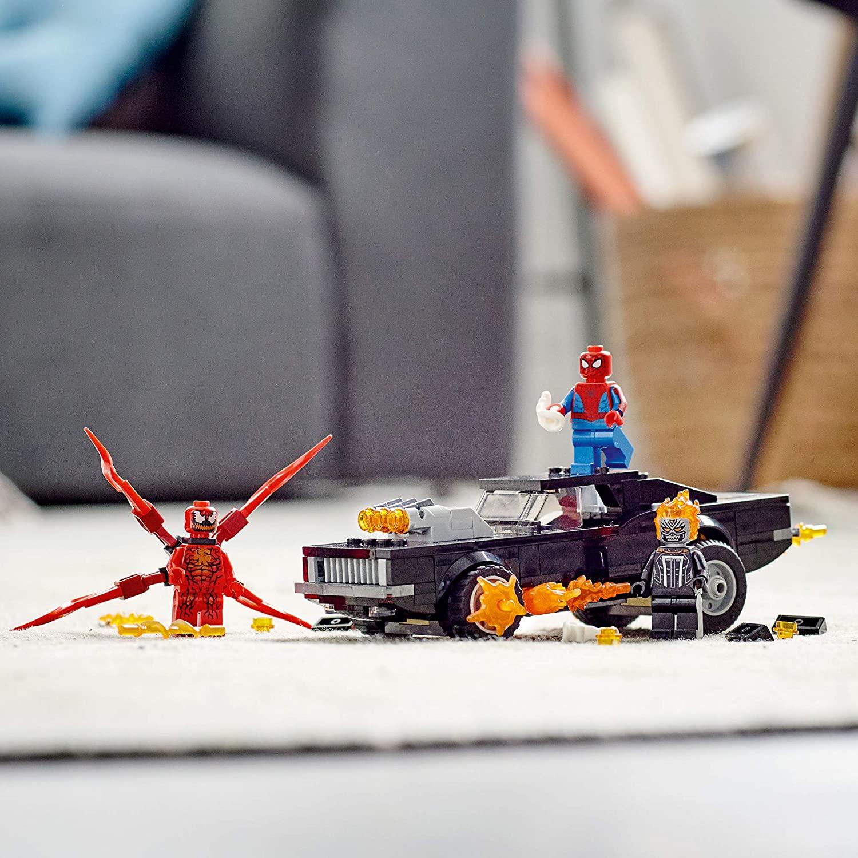 LEGO Marvel Spiderman - Homem- Aranha e Ghost Rider vs. Carnage 76173