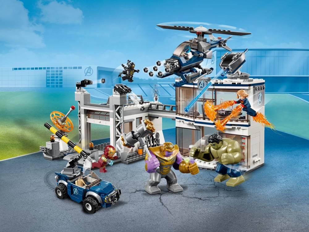 LEGO Marvel Super Heroes - Base dos Vingadores 76131