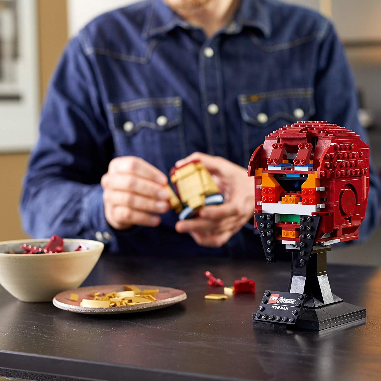 LEGO Marvel Vingadores - Capacete Homem de Ferro 76165