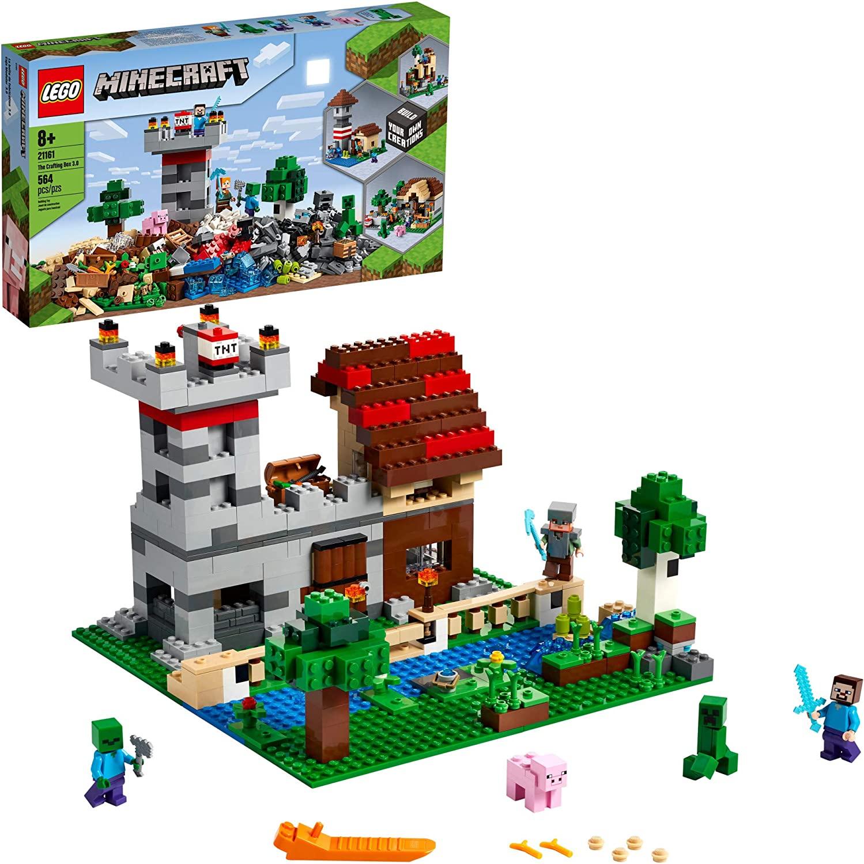 LEGO Minecraft  - A Caixa de Crafting 3.0 21161