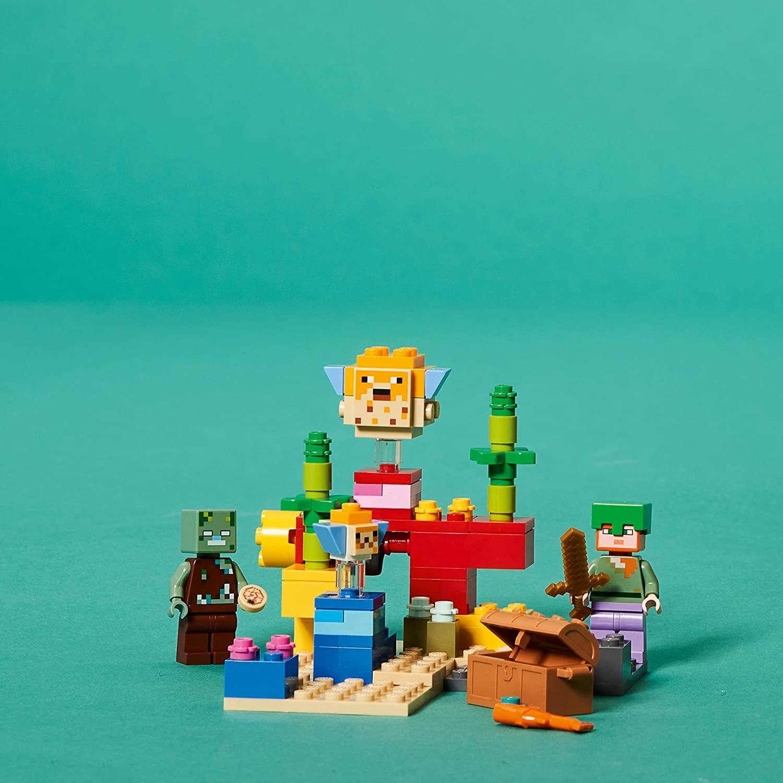 LEGO Minecraft - O Recife de Coral 21164