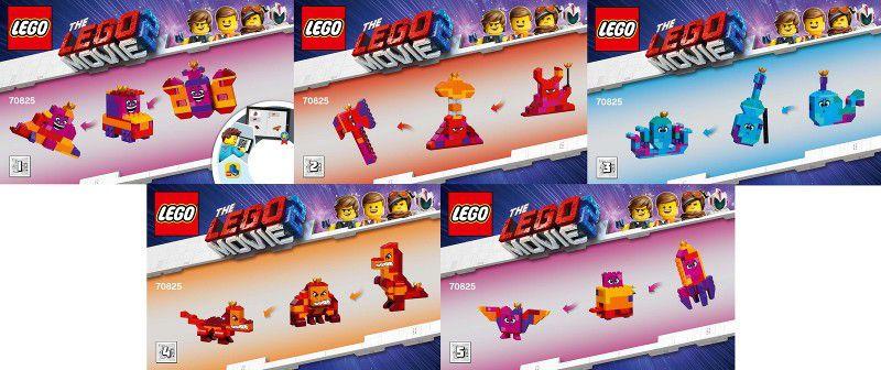 LEGO Movie - Construa com a Rainha Watevra