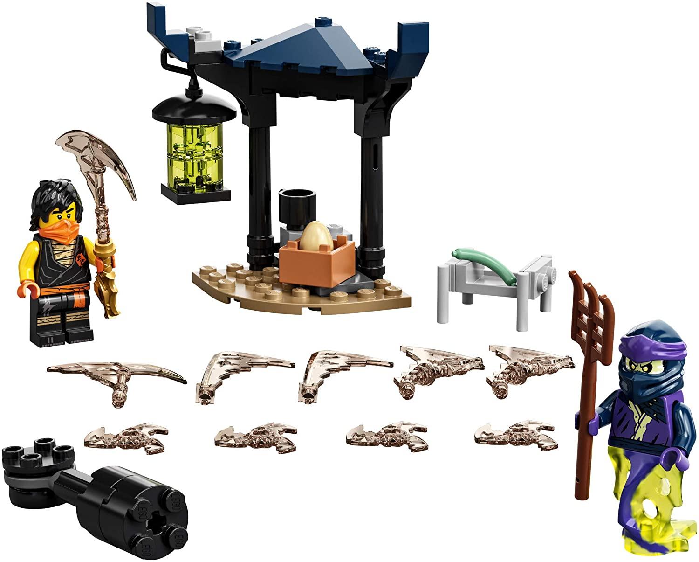 LEGO Ninjago - Conjunto de Combate Épico - Cole vs Guerreiro Fantasma 71733
