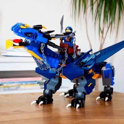 LEGO Ninjago - Dragão da Tempestade 70652