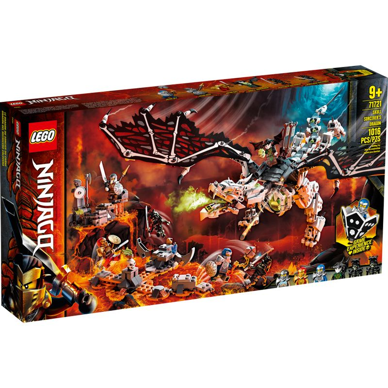 LEGO Ninjago - Dragão do Feiticeiro Caveira - 71721