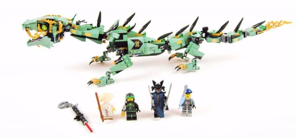 LEGO Ninjago - Dragão do Ninja Verde 70612