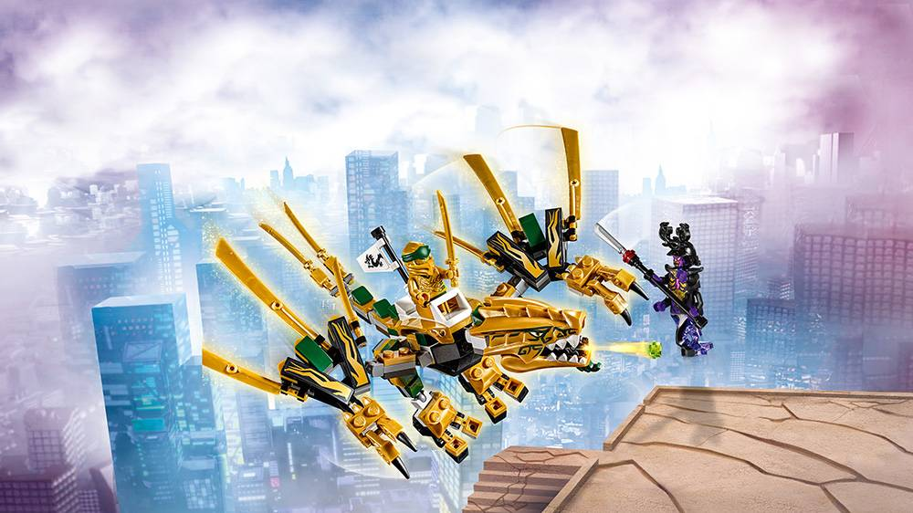 LEGO Ninjago - Dragão Dourado 70666