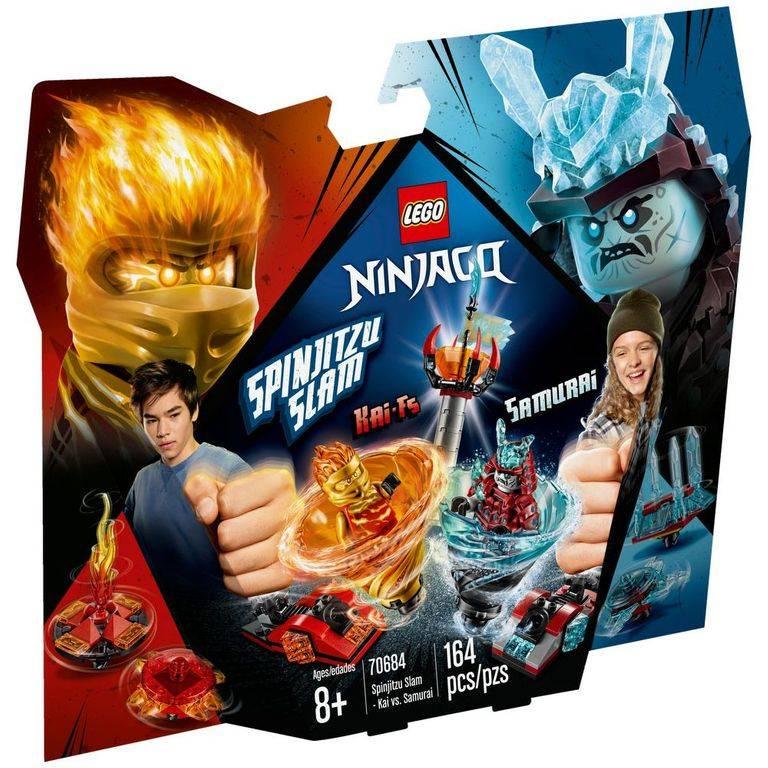 LEGO Ninjago - Lançador Spinjitzu: Kai Vs Samurai