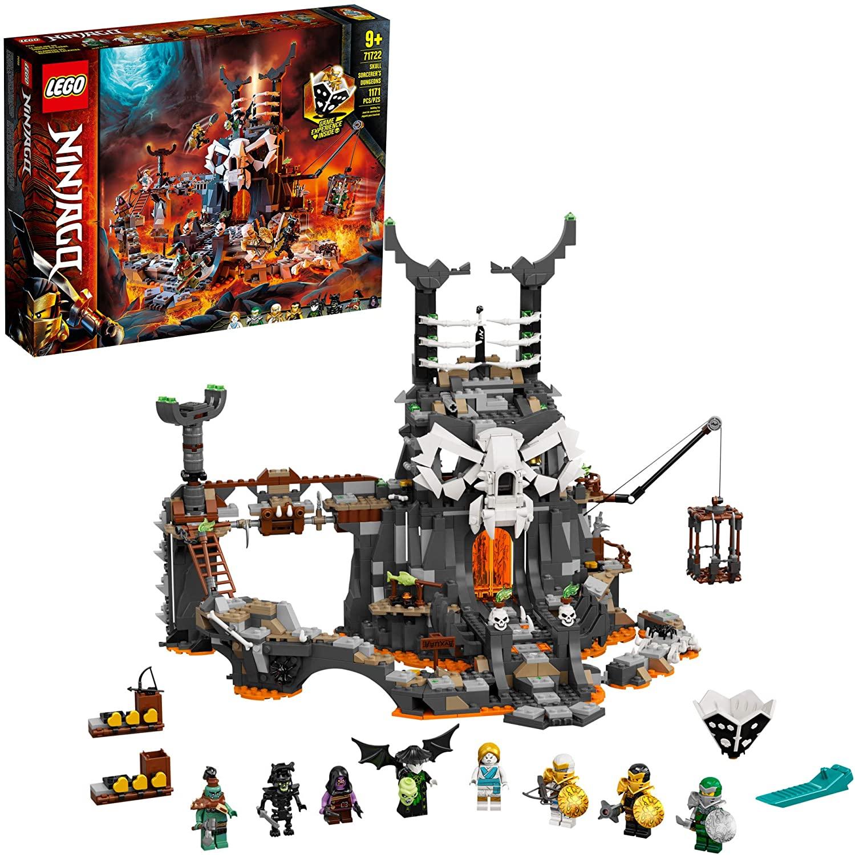 LEGO NINJAGO - Masmorras do Feiticeiro Caveira 71722