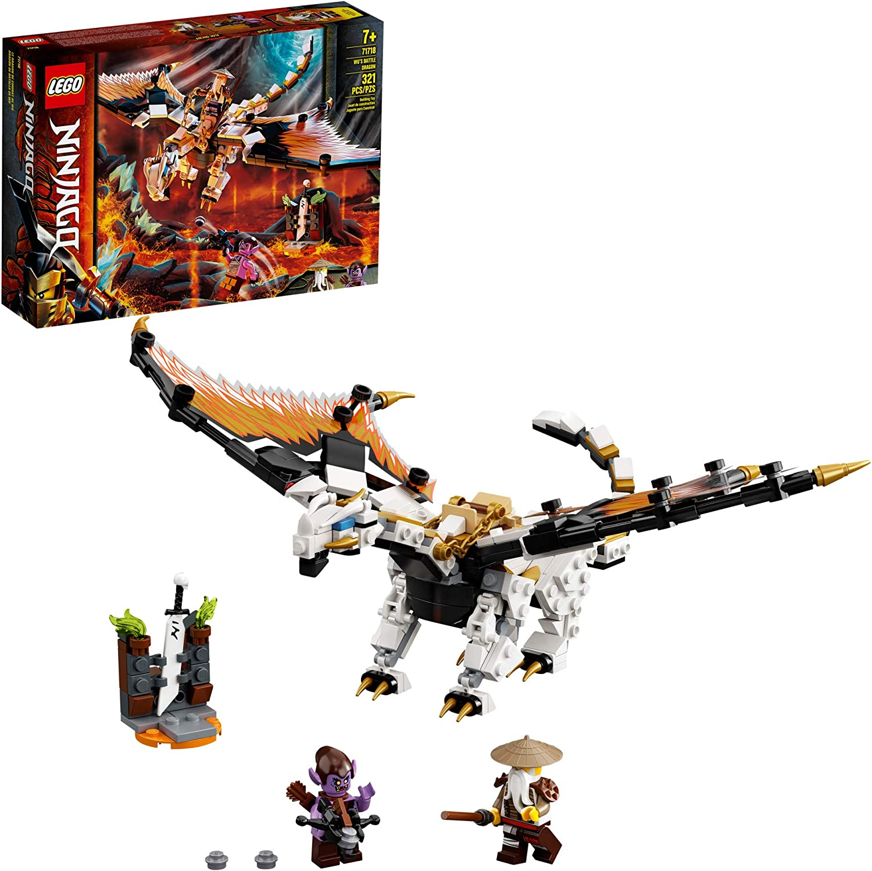 LEGO NINJAGO - O Dragão de Combate de Wu 71718