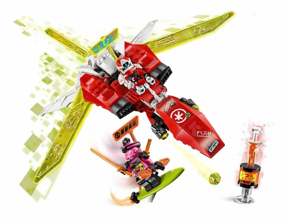 LEGO Ninjago - O Jato Robô do Kai