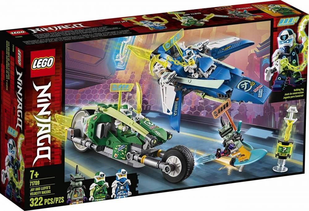 LEGO Ninjago - Os Veículos de Corrida do Jay e do Lloyd