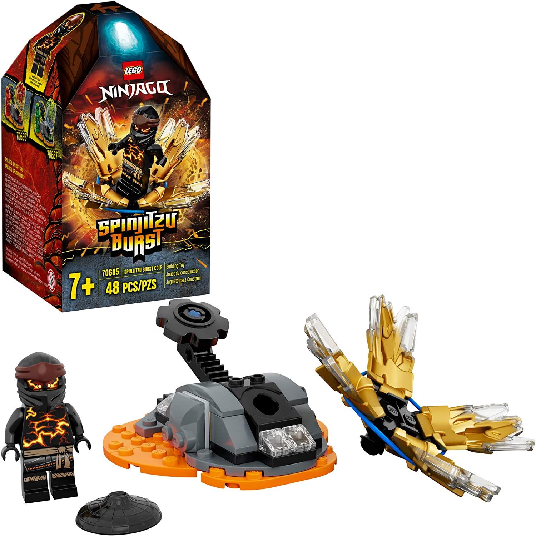 LEGO NINJAGO - Rajada de Spinjitzu - Cole 70685