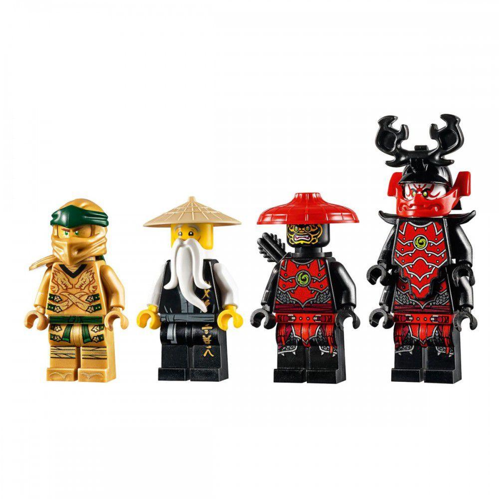 LEGO Ninjago - Robô Dourado