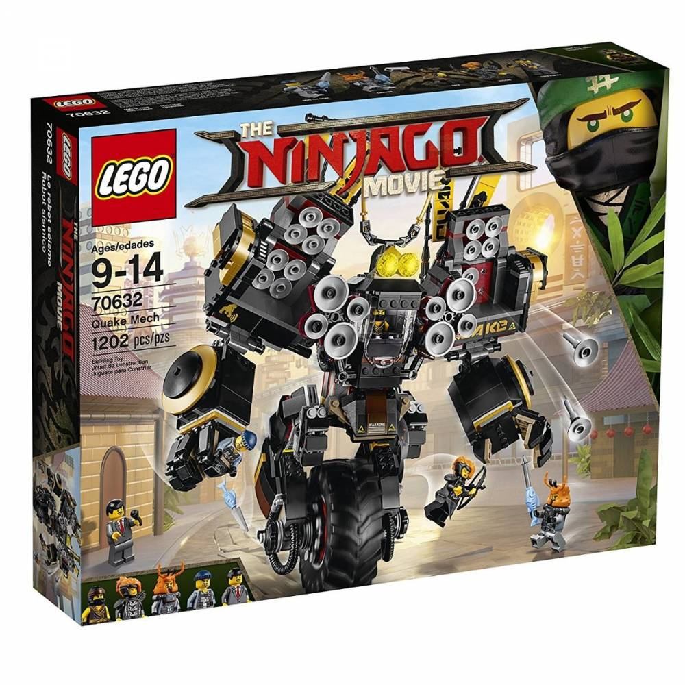 LEGO Ninjago - Robô Sísmico 70632