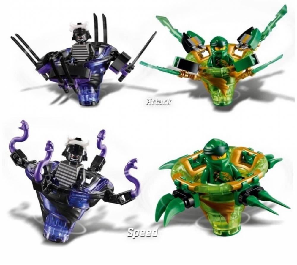 LEGO Ninjago - Spinjitzu Lloyd Contra Garmadon