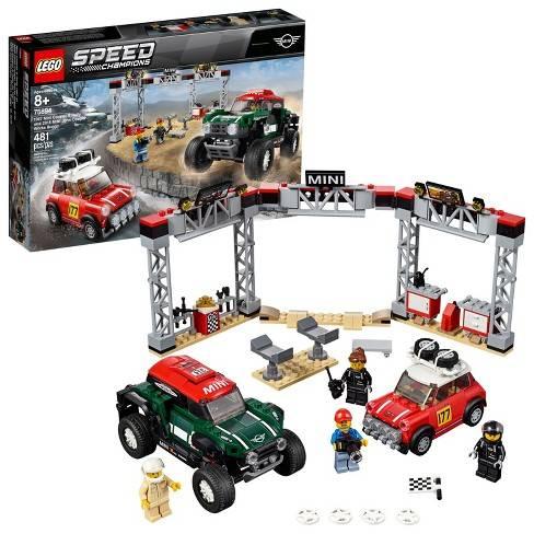 LEGO Speed Champions - 1967 Mini Cooper S Rally e 2018 MINI John Cooper Works Buggy